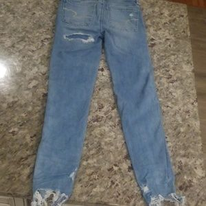 American Eagle Outfitters Jeans - American Eagle distressed jeans/jeggings